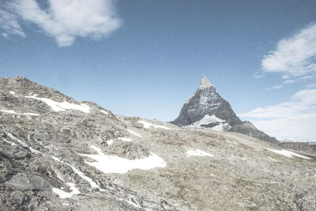 Matterhorn und Geröll