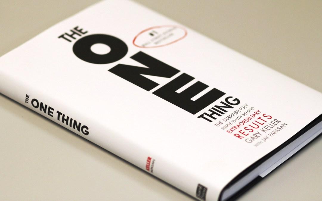 Transcript: The One Thing Book Discussion