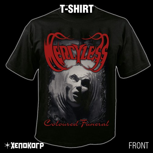 "MERCYLESS ""Coloured Funeral"" T-SHIRT [front]"
