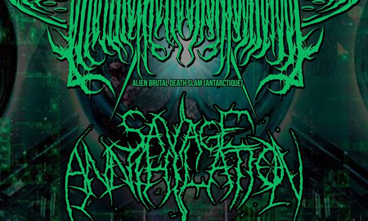 SAVAGE ANNIHILATION announce tour with 01101111011101100110111001101001