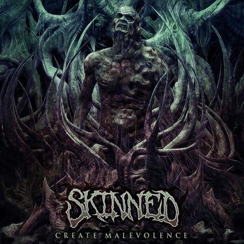 """SKINNED """"Create Malevolence"""" CD"""