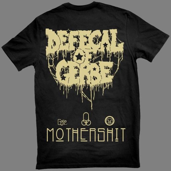 """DEFECAL OF GERBE """"Mothershit"""" T-SHIRT"""