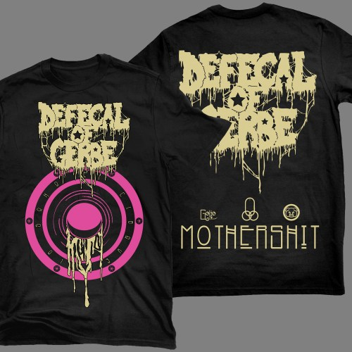 "DEFECAL OF GERBE ""Mothershit"" T-SHIRT"