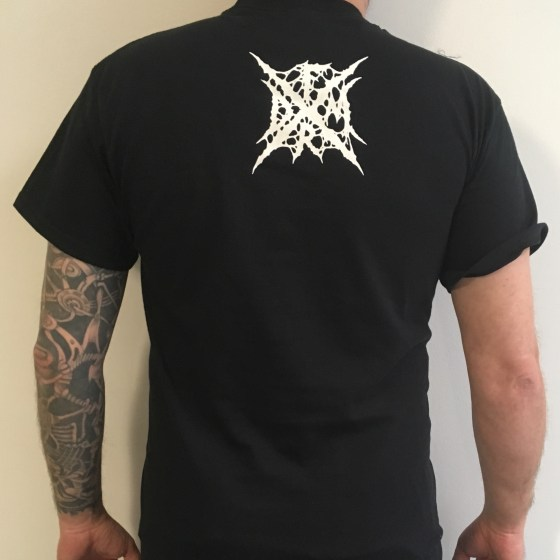 """DARKALL SLAVES """"Abysses of Seclusion"""" T-SHIRT"""