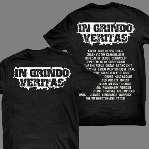 "V/A ""In Grindo Veritas"" T-SHIRT / GIRLY"
