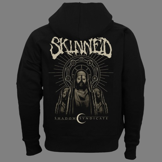 "SKINNED ""Shadow Syndicate"" HOODED SWEAT SHIRT"