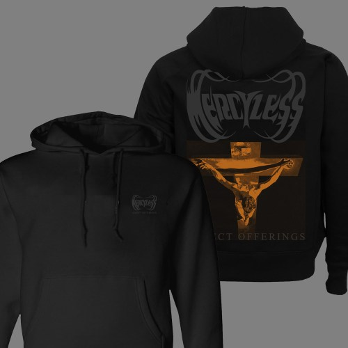 """MERCYLESS """"Abject Offerings"""" HOODED SWEAT SHIRT"""