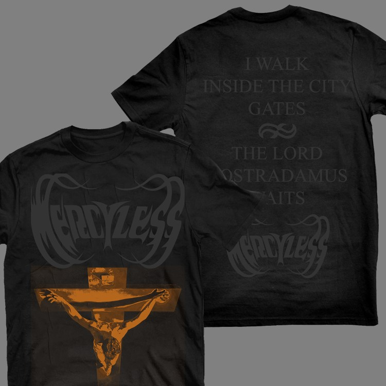 """MERCYLESS """"Abject Offerings"""" T-SHIRT / GIRLY"""