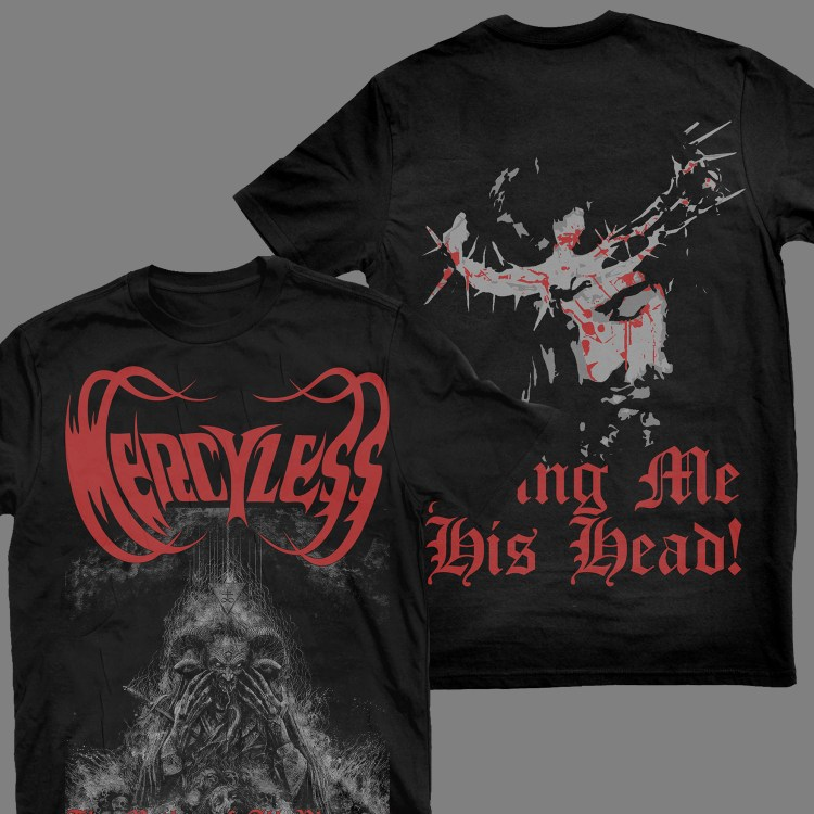 """MERCYLESS """"The Mother of All Plagues"""" T-SHIRT"""