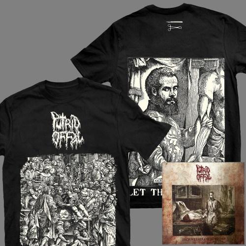 "PUTRID OFFAL ""Sicknesses Obsessions"" T-SHIRT + album"