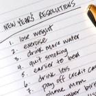 Resoluciones de año nuevo muy recomendadas.