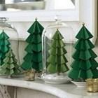 Manualidades para esta navidad: Arbolitos de cartulina.
