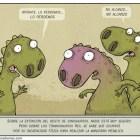 Cómic: La extinción del tiranosaurio