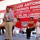Hechos y no promesas para los mixtecos: Ramírez Pineda