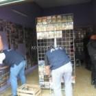 Realiza AFI operativo en locales de discos piratas en Huajuapan