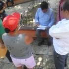 La SEDESOH se reunió con defraudados de una caja