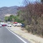 Bloquean carretera Huajuapan – Oaxaca inconformes de Tamazulapan