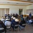La junta de Conciliación Agraria se reunió con ejidatarios de Zapoquila