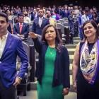 Toma protesta Yaret Guevara como diputada federal en la LXIII legislatura