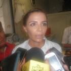 Visito la mixteca Iveth Moran esposa del candidato del PRI Alejandro Murat