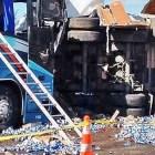 Sufren jornaleros oaxaqueños accidente en Sonora