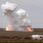Fueron incineradas en Huajuapan aproximadamente tres toneladas de material explosivo