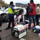 Aumentan accidentes automovilísticos por puente vacacional