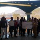 Se reúne autoridad municipal con pobladores de El Molino