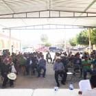 Bloquean comuneros de San José la Pradera en protesta a resolución del TEEO