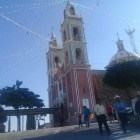 Festejan 25 años de iglesia del calvario en Acatlán