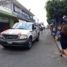 Se origina conflicto entre locatarios del mercado Juárez y vecinos de la calle 5 de Mayo