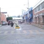 Aparece socavón en calle José López Alavés