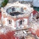 Reconstruye INAH iglesia en Tacache de Mina