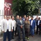 Se manifiesta Frente de Abogados de la Mixteca en Huajuapan