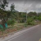 Presenta riesgo pared mal construida en la carretera Huajuapan- Tehuacán