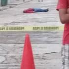 Asesinan a hombre en calle céntrica de Huajuapan
