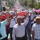 Huajuapeños desaprueban movilizaciones de la Sección 22