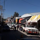 Implementan prueba piloto de doble carril en calle Tapia