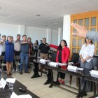 Toman protesta a integrantes del consejo municipal para combatir la violencia contra las mujeres
