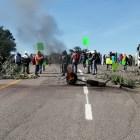 MAIZ y Pobladores de Yucuquimi realizaron bloqueo en la carretera federal 190