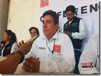 Presentan al representante en la Mixteca del Sindicato Independiente Nacional de Salud