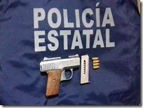 Seguridad Pública Detienen a persona por portación de arma en Yucuná