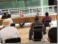Encabeza SEGEGO mesa de diálogo para solucionar conflicto entre comunidades triquis y San Pedro Chayuco
