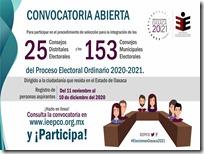 Aprueban convocatoria para integrar consejos distritales y municipales