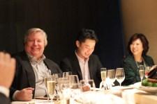 ドナルド・パッツ氏から日本未入荷のスパークリングが振る舞われました