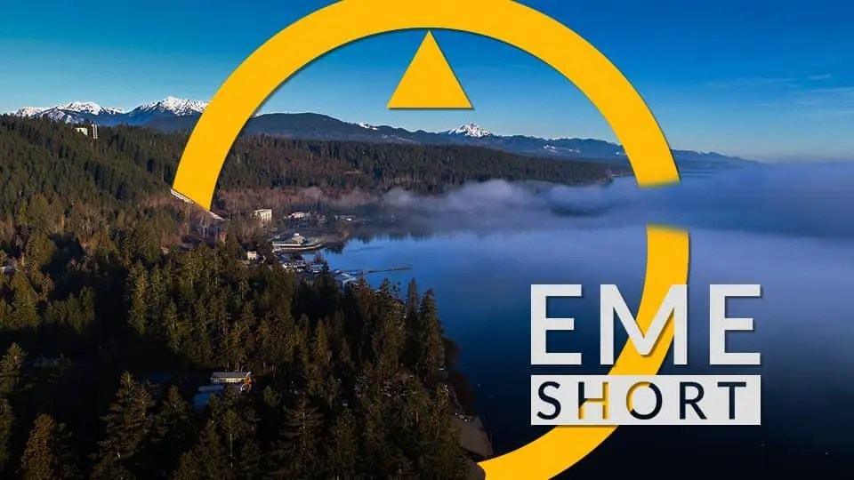 Video Short - Cushman Lake and the Olympic Mountains