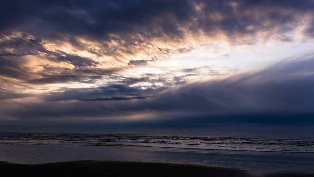 Feeling the Power of a Kalaloch Sunset