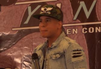 Daddy Yankee defiende el Reggaeton en Mexico