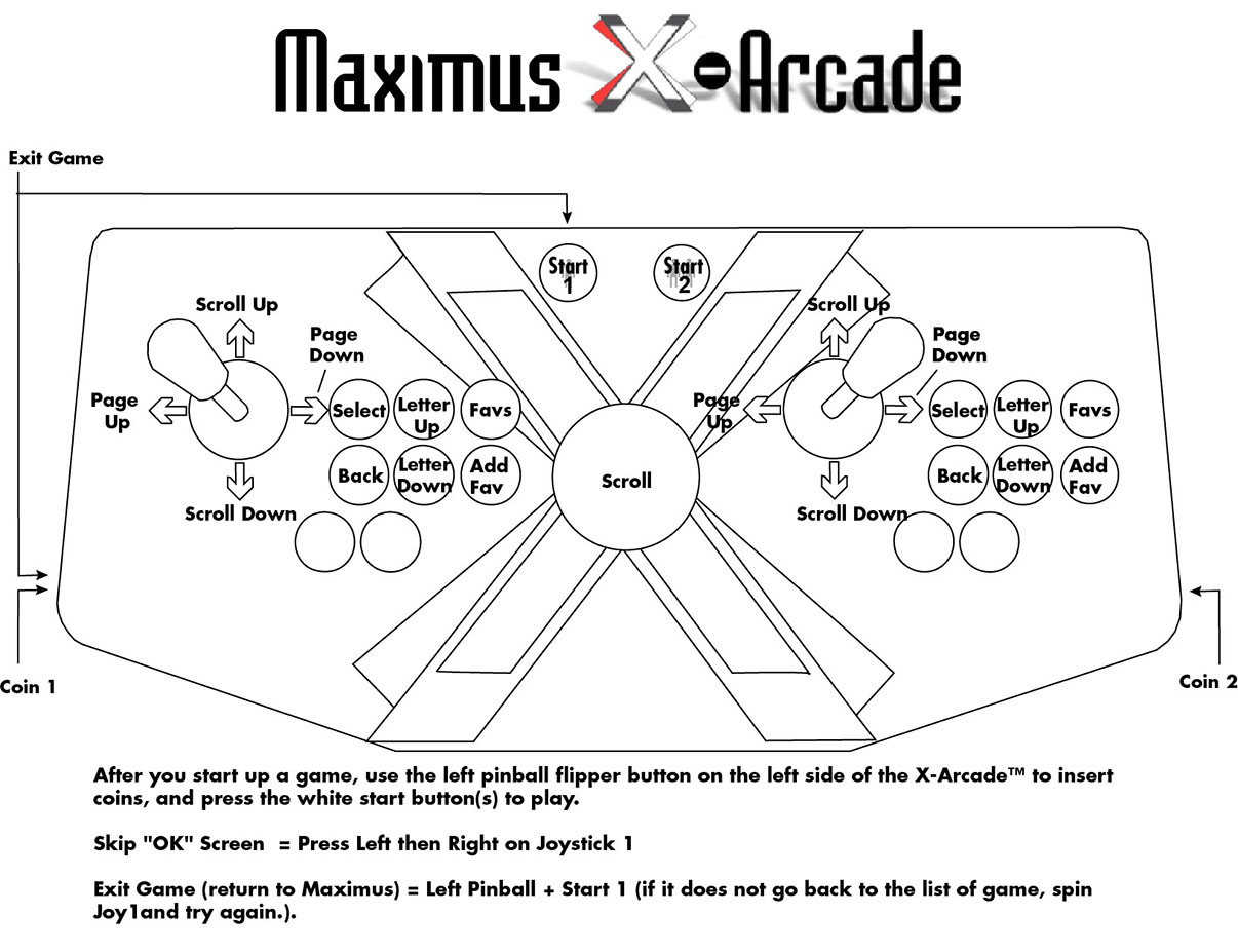 X Arcade Space Race Cocktail Setup Guide Manual And