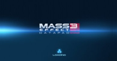 Mass Effect 3 Datapad